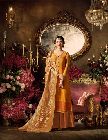 Yellow Make to Order Salwar Suit