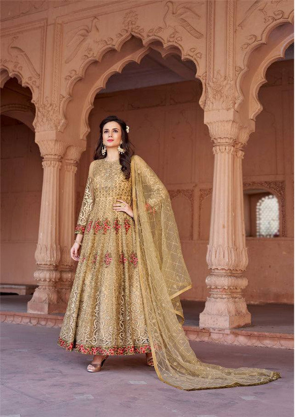 Yellow Colour Make to Order Salwar Suit