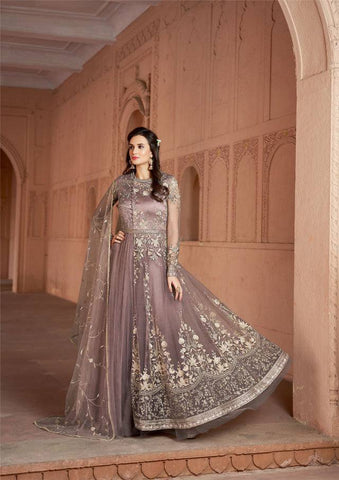 Mauve Colour Make to Order Salwar Suit