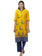 Readymade Yellow Printed Cotton Kurti