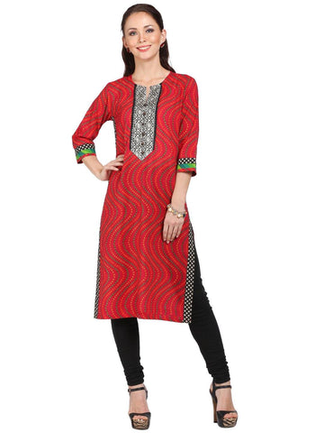 Bandini Printed Cotton Tunic-www.riafashions.com