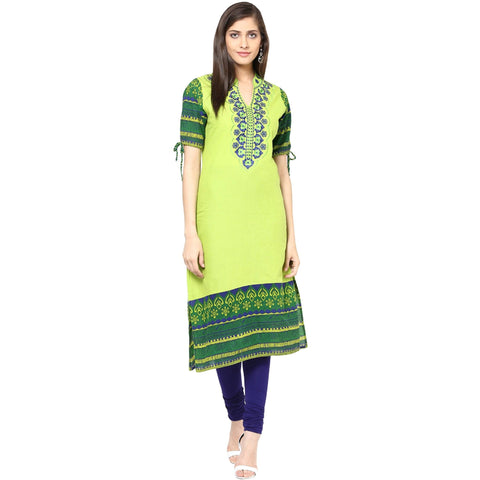 Embroidered Cotton Tunic-www.riafashions.com