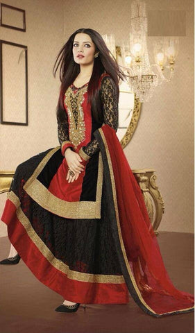 Beautiful 3 piece Anarkali Suit-www.riafashions.com