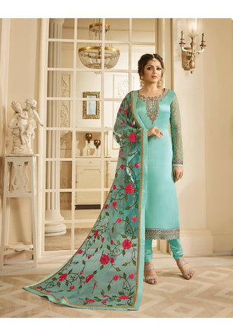 Aqua Make to Order Salwar Suit