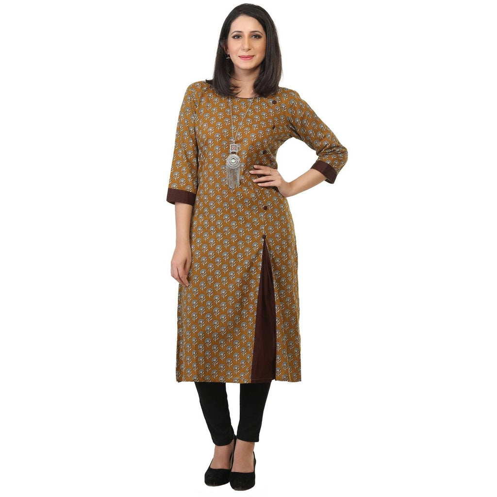 Printed cotton kurti-www.riafashions.com