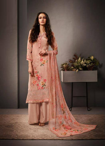 Light Pink Colour Make to Order Salwar Suit