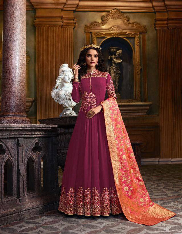 Violet Make to Order Salwar Suit