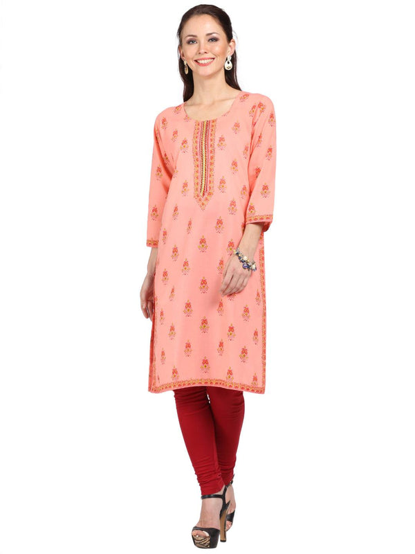 Knee Length Cotton Tunic-www.riafashions.com