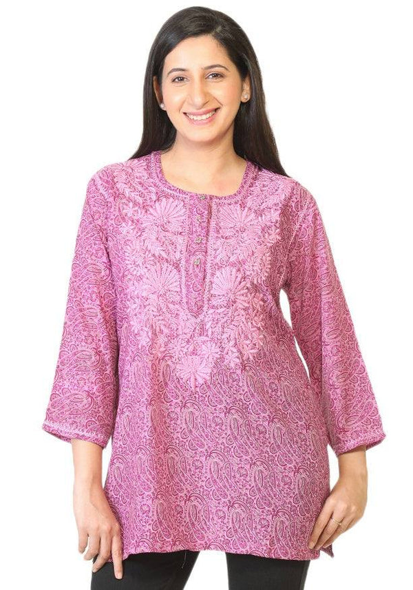 Embroidered Kurta-www.riafashions.com