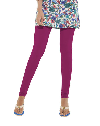 Leggings - Churidar - Lilac-www.riafashions.com