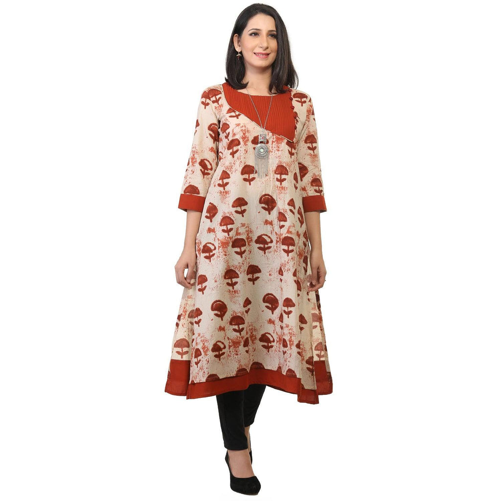 Pure cotton kurti-www.riafashions.com