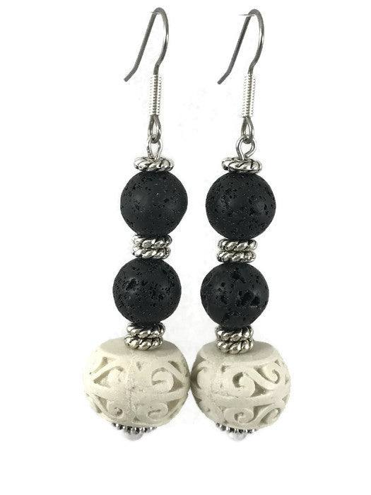 Ceramic Drop Earring-www.riafashions.com