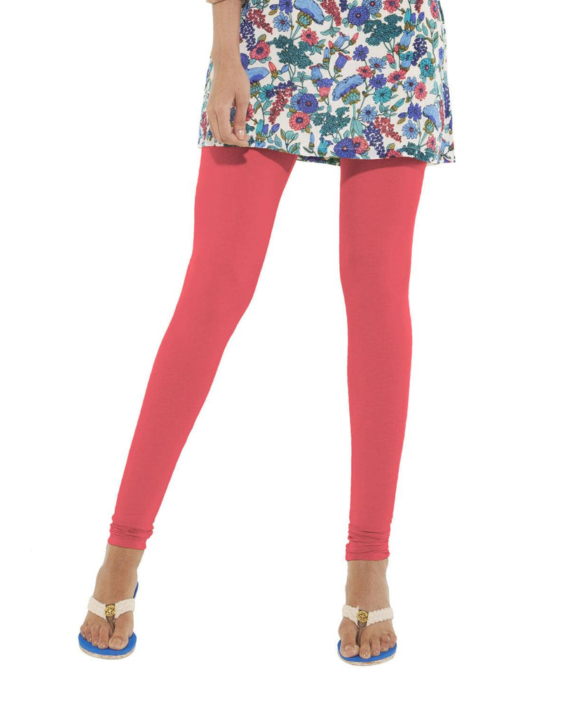 Leggings - Churidar - Light Rose-www.riafashions.com