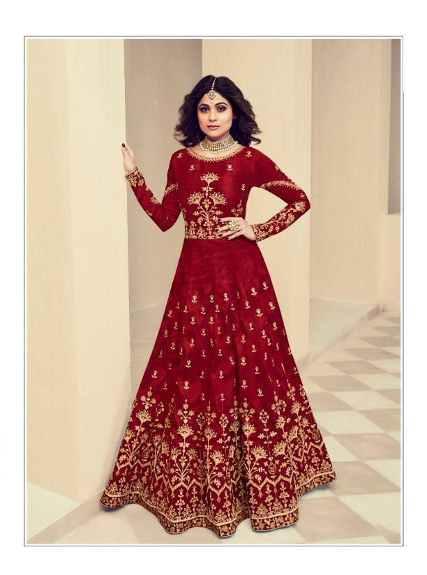 Maroon Colour Make to Order Salwar Suit