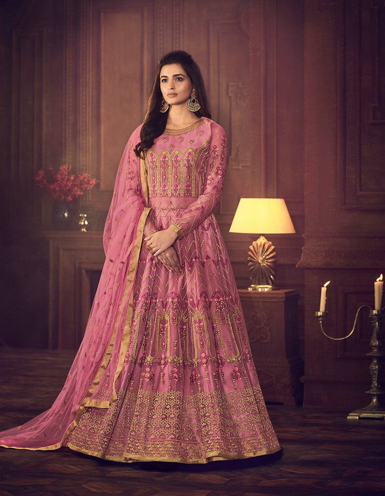 Fuchsia Colour Make to Order Salwar Suit