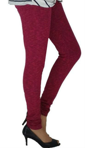 Churidar Leggings - Navy Fuschia-www.riafashions.com