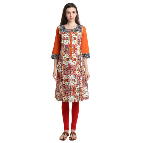 Block Pattern Tunic-www.riafashions.com