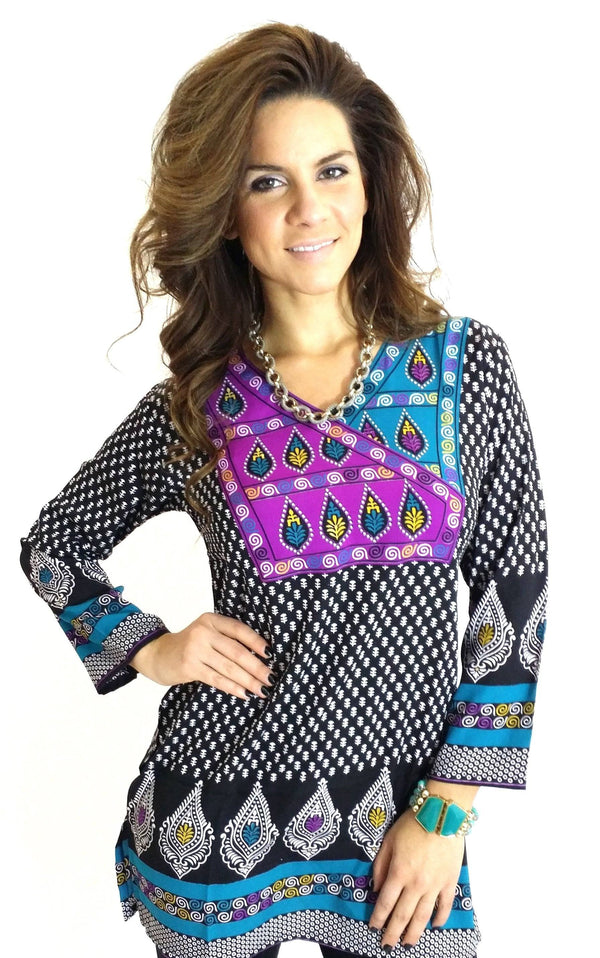 Readymade Polyester fabric Casual Wear Tunic