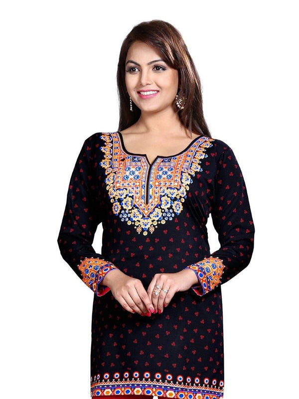 Readymade Polyester fabric Casual Wear Tunic/Kurti
