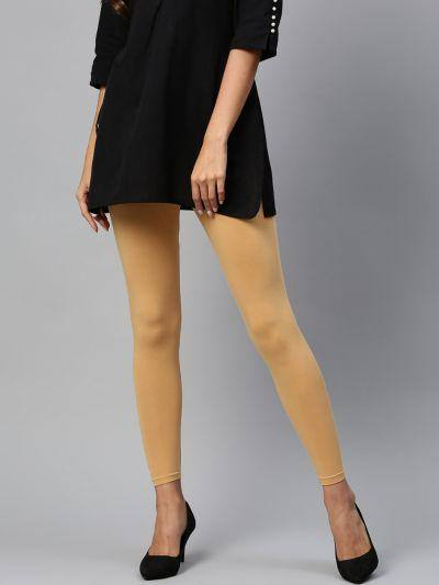 Legging - Beige Color - www.riafashions.com