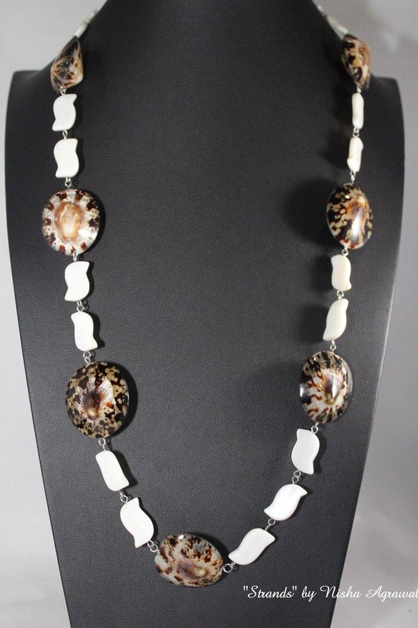 Shell & mother of pearl necklace