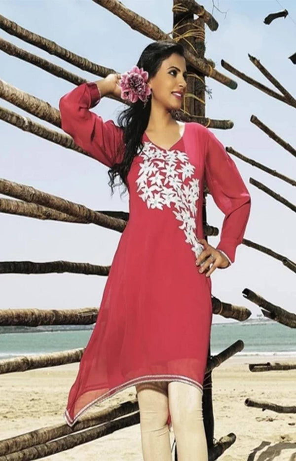 Beautiful Georgette Tunic - www.riafashions.com