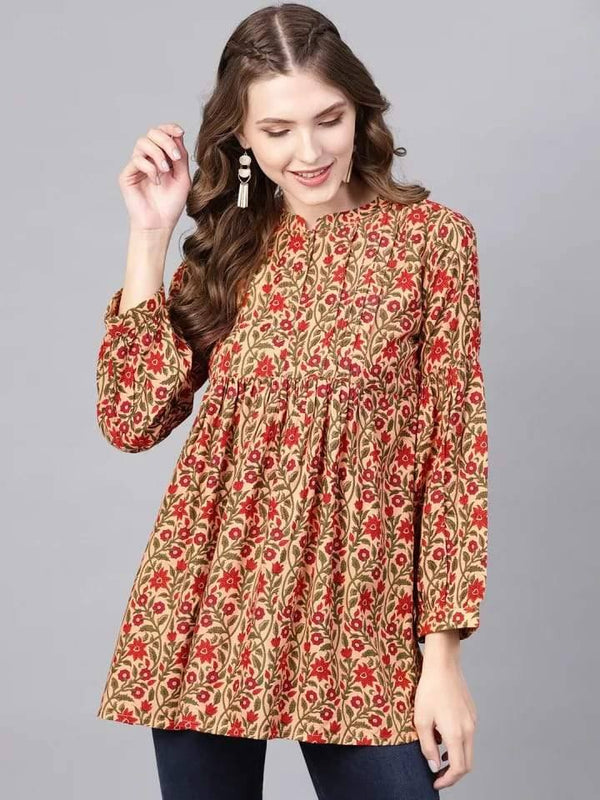 Printed Make To Order Tunic Kurti