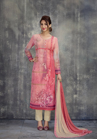 Pink Embroidered Suit-www.riafashions.com