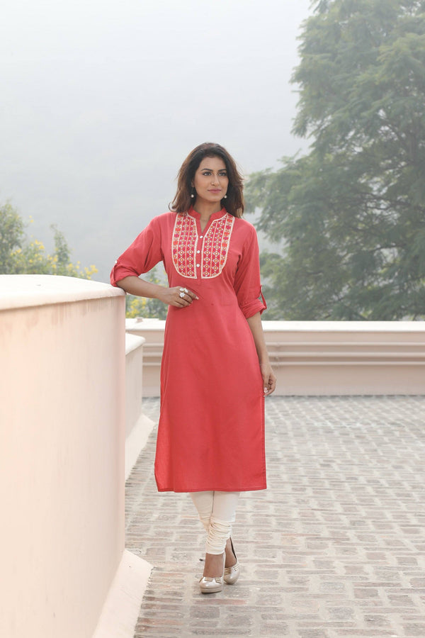 Long cotton tunic-www.riafashions.com