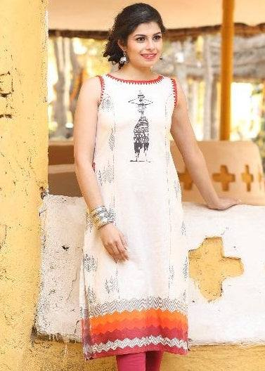Cotton Blend Kurta-www.riafashions.com