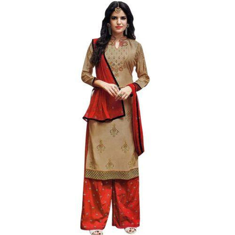 Brown and Red Set-www.riafashions.com