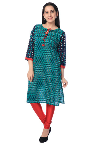Churidhar Leggings - Lycra - Red