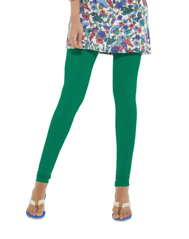 Leggings - Churidar - Green