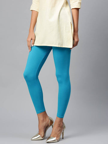 Leggings - Churidar - Blue