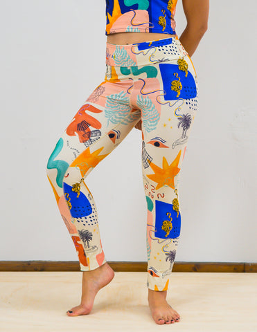 Leggings 'Dark CHAOS""