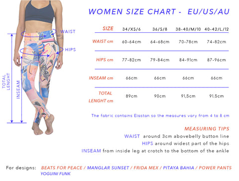 Leggings 'Manglar Sunset'