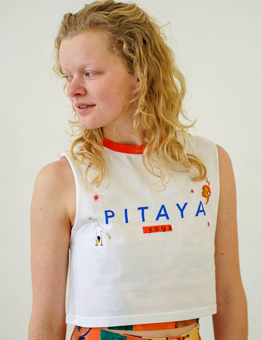 Short T-shirt 'PITAYA YOGA'