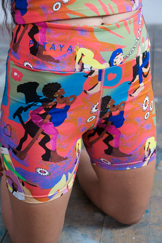 Shorts 'Hey Yogini'
