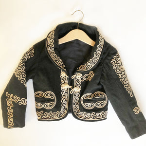 Little Vintage Jacket With Amazing Detail Size 12-24 months