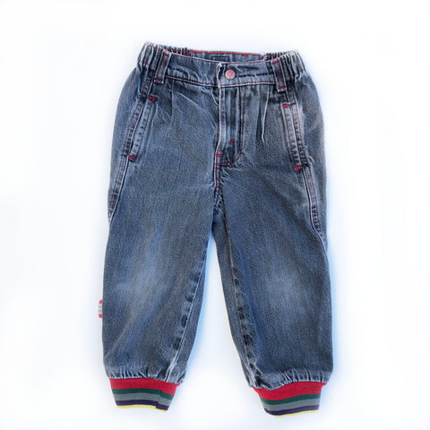 Vintage Levis with Stripe Detail Size 4-5