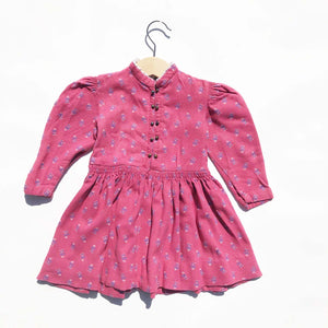 Pretty Swiss Puff Sleeve Dress size 12-18 months