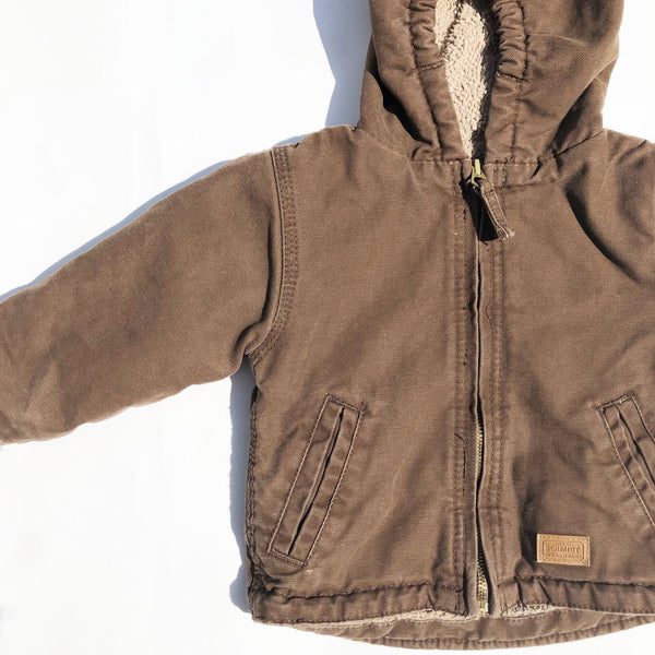 Vintage Schmidt Fleece Lined Jacket size 12-18 months