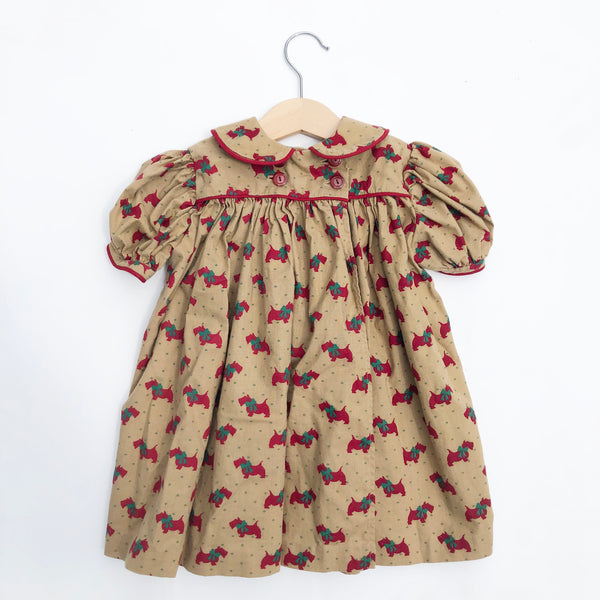 Little Vintage Hand Made Dress size 12-18 months