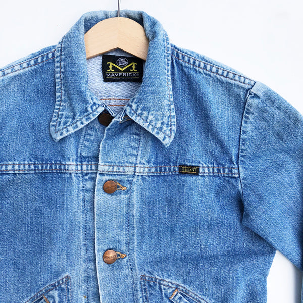 Vintage Maverick Denim Jacket size 8-9