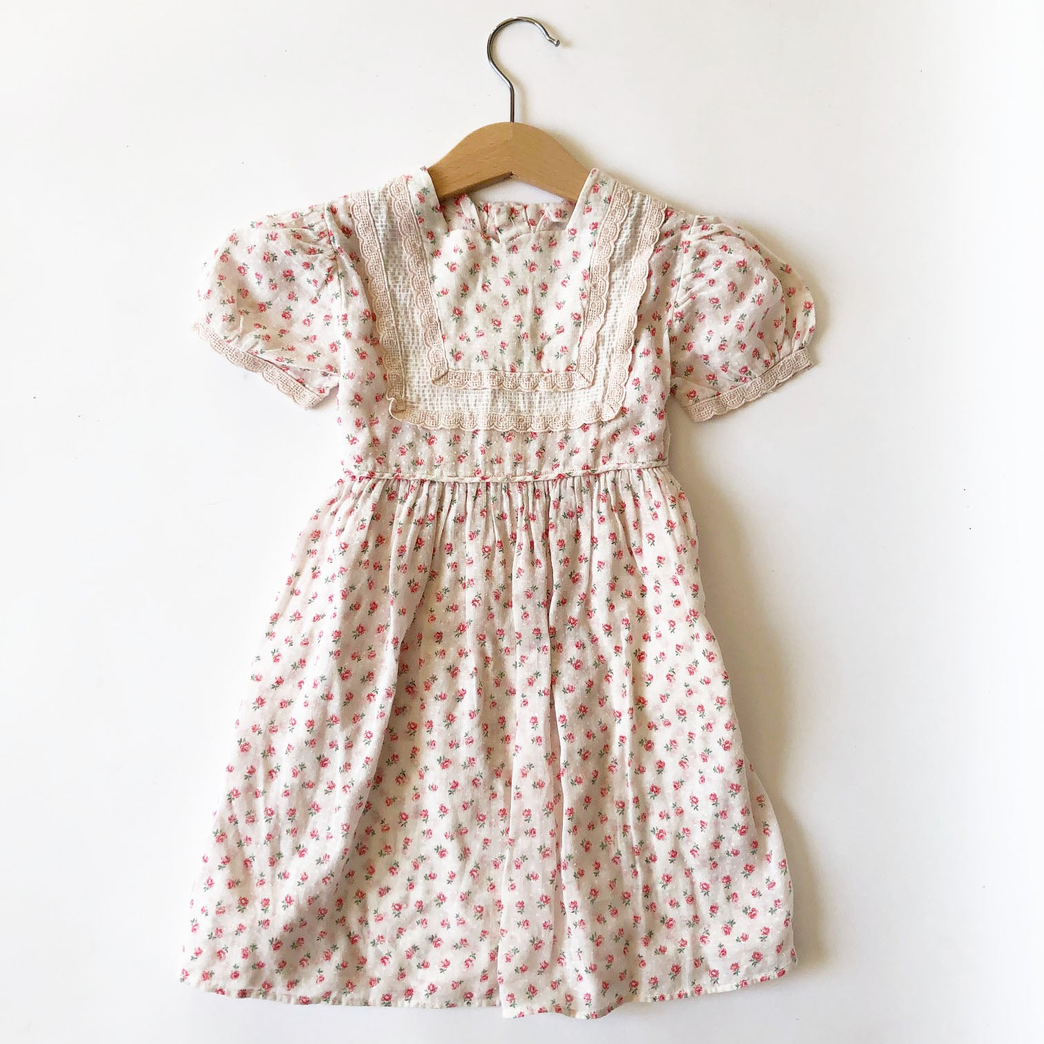 Little Ditsy Vintage Dress size 18-24 months
