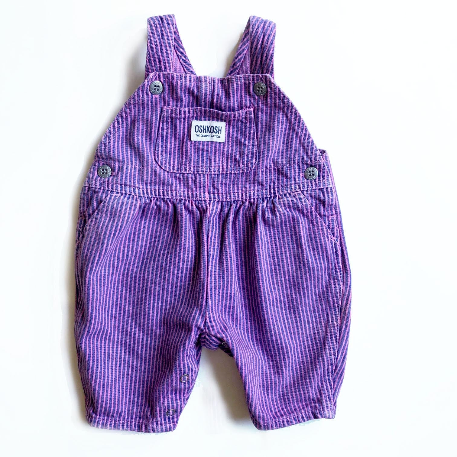 The cutest Vintage Osh Kosh Overalls Size 3-6 months