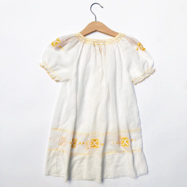 Beautiful  Embroidered Peasant Dress size 2-4yrs