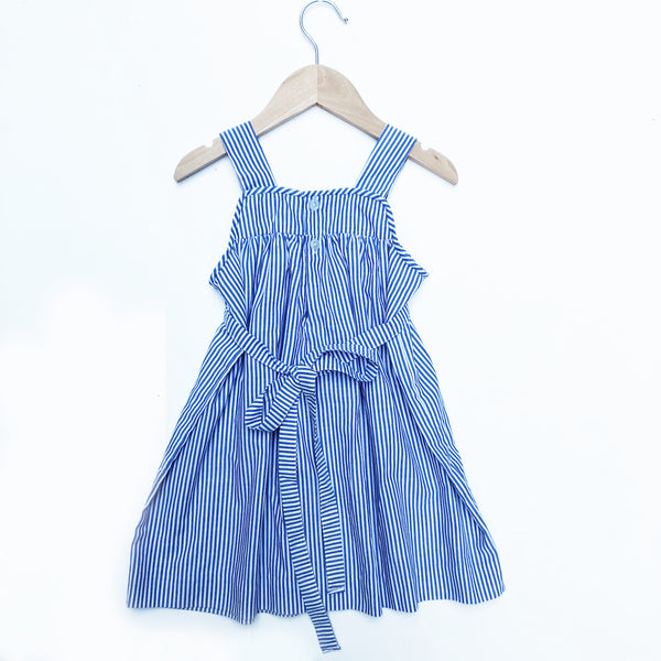 Pretty Vintage Stripe Smocked Dress size 18-24 months