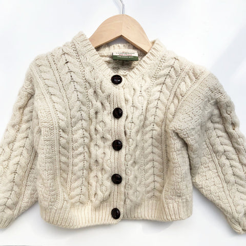 Little Arran knit Cardigan from Ireland Size 2-3