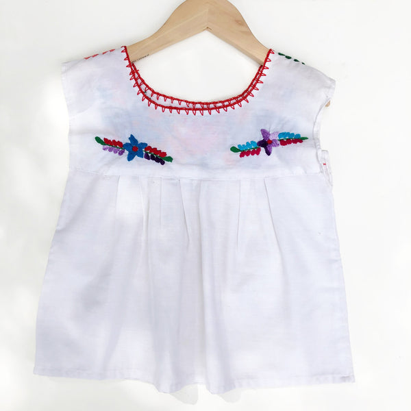 Oaxacan Embroidered Shirt Size 3-4